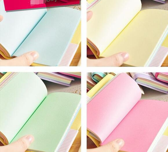 PU leather exercise note book