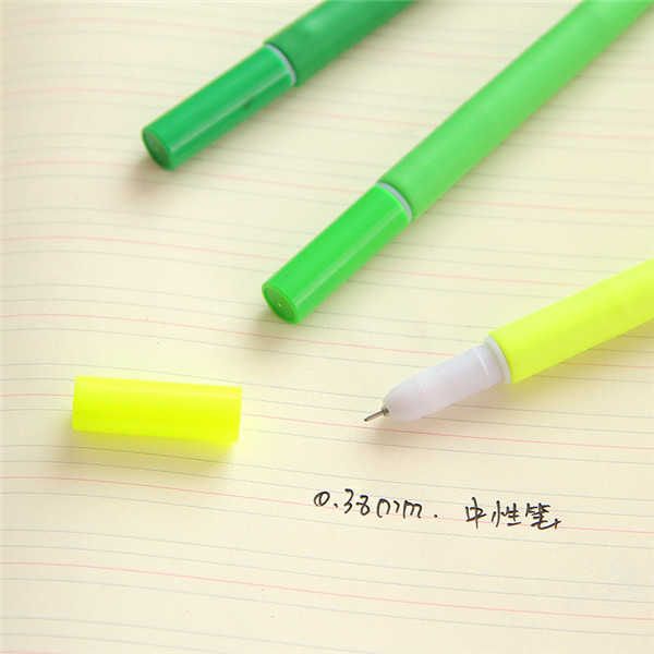 korea 0.38mm gel pen